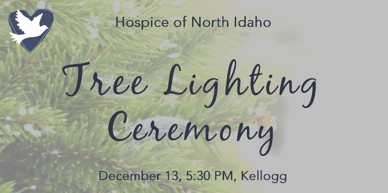 Tree Lighting Ceremony Kellogg December 13 5:30 pm Cameron Ave
