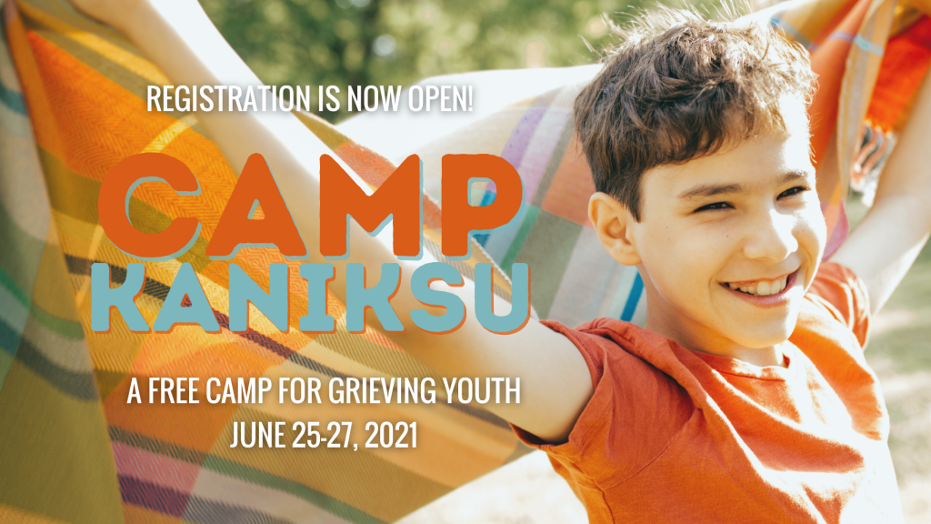 grief and loss camp for kids